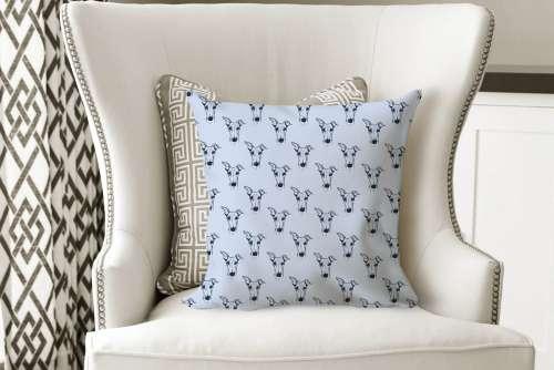 Cushion Cover Powder Blue