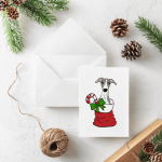 Pup of Cheer Greeting Cards