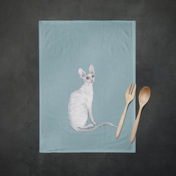 Casper the Cornish Tea Towel
