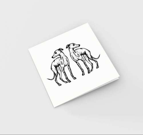 mirror hound card flat