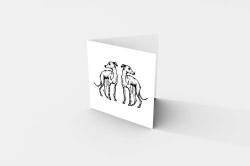 mirror hound card upright