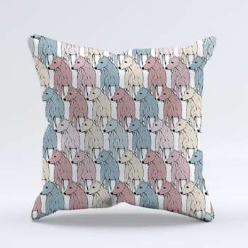 Sweetheart Candy Hound cushion cover